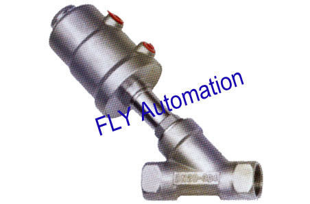 "3/4"" 178677,178663 PPS Actuator Threaded Port 2/2 Way Angle Seat Valve"