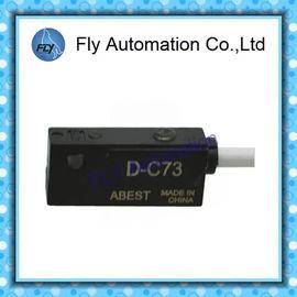Çin SMC D-C73 D-C76 CDJ2 / MGC / RSDG Pnömatik Hava Silindirleri parçaları Reed Switch Sensör Anahtarı Manyetik Anahtar Distribütör