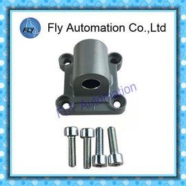 Çin CA40 174384 SNC-40 için 40 delikli hava silindiri ISO 15552 Festo DNC Standart silindir Aksesuar Tek kulaklı Distribütör